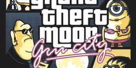 Grand Theft Moon Gru City