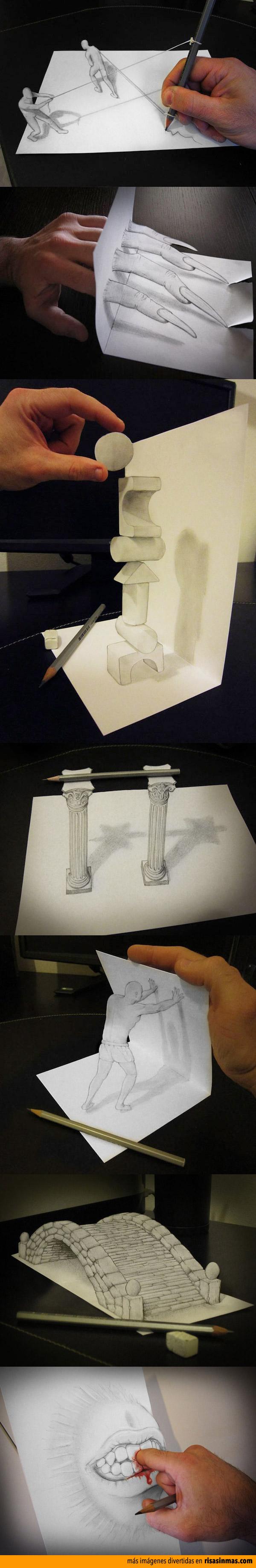 Ilusiones artísticas en 3D