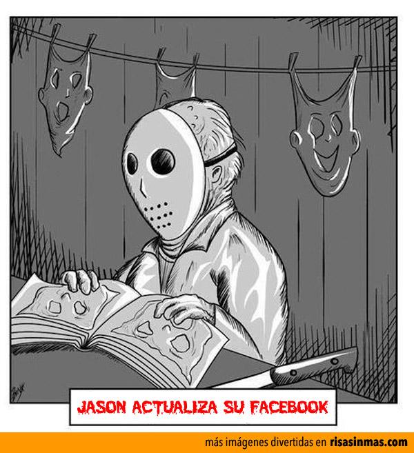 Jason actualiza su Facebook