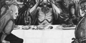 La última cena más friki y rara del mundo