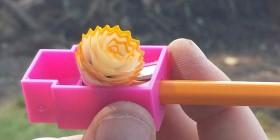 La flor del sacapuntas