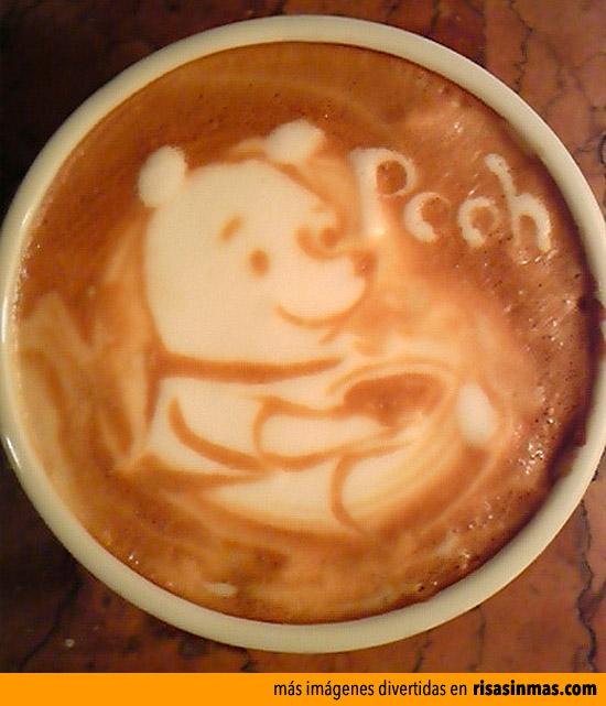 Latter arte: Winnie Pooh