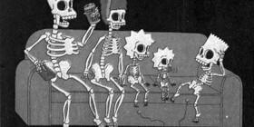 Los Simpson en rayos X