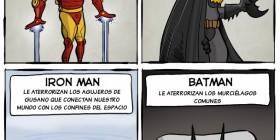 Los miedos de los superhéroes