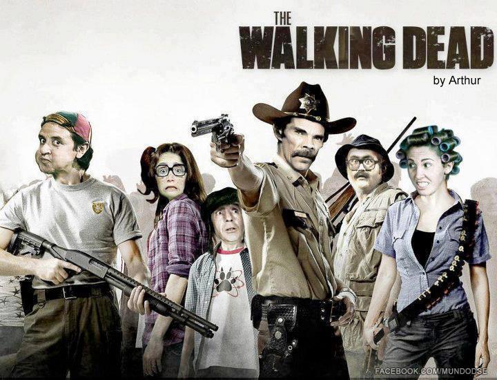 Imágenes divertidas de The Walking Dead 4