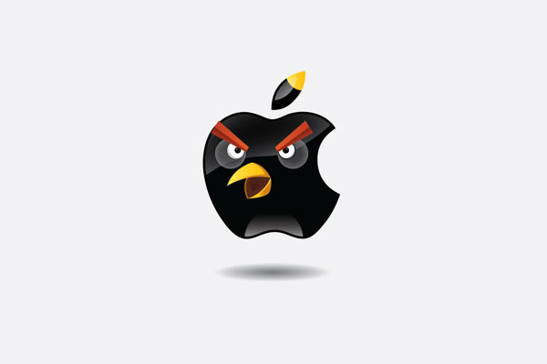 Marcas Angry Birds: Apple
