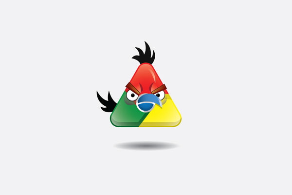 Marcas Angry Birds: Google
