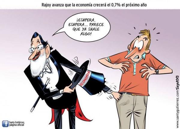 Mariano Rajoy: la economía crecerá 0,7%