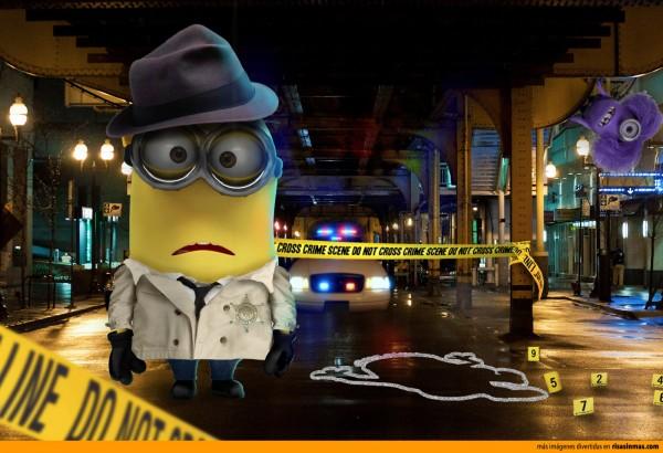 Minion Detective