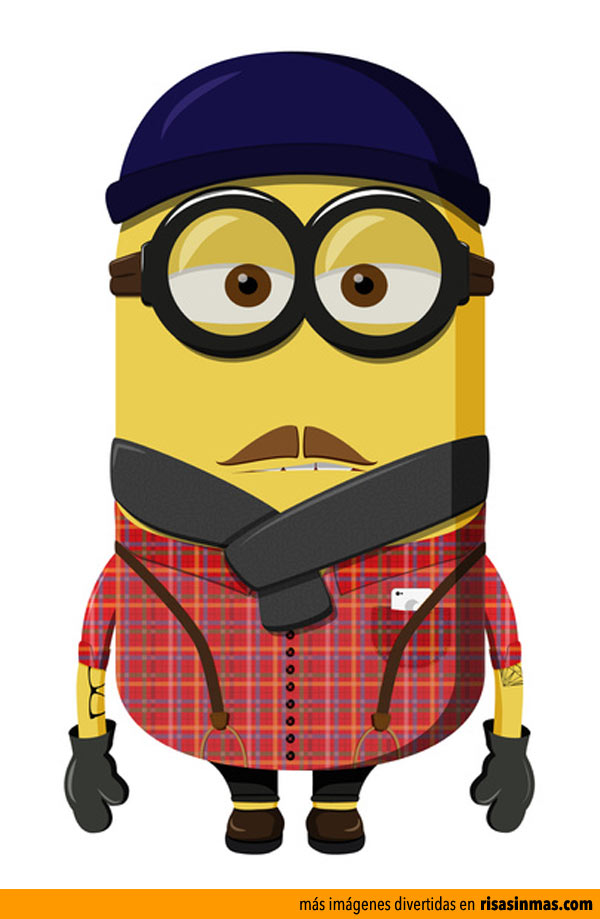 Minion Hipster