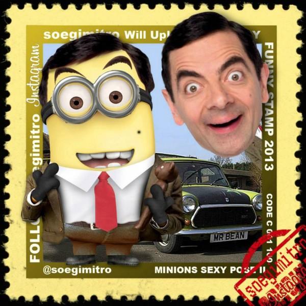 Minion Mr. Bean