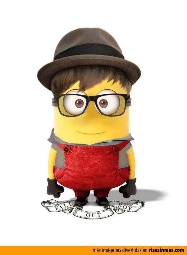 Minion Patrick Stump de Fall Out Boy