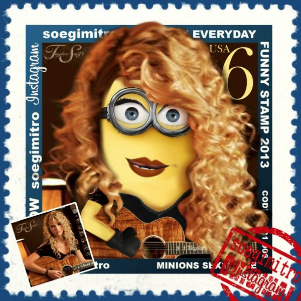 Minion Taylor Swift