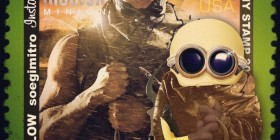 Minion Vin Diesel como Riddick