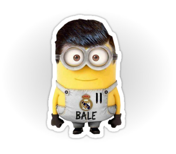 Minion de Gareth Bale del Real Madrid