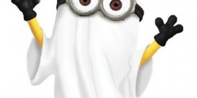 Minion Fantasma de Halloween