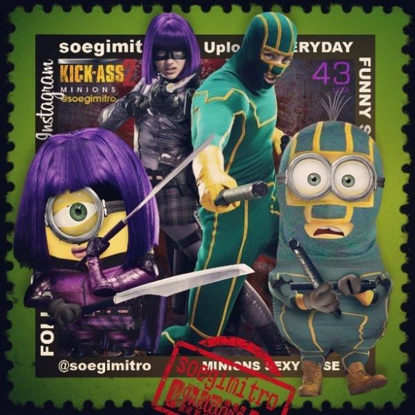 Minions Kick-Ass 2