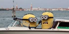 Minions en Venecia
