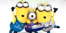 Minions hinchas del Real Madrid