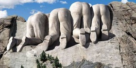 Monte Rushmore zona canadiense