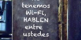 No tenemos Wi-Fi