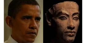 Parecidos razonables: Barack Obama y Akenatón