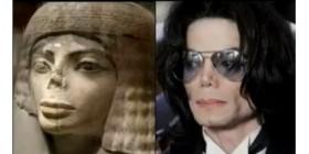 Parecidos razonables: Estatua egipcia y Michael Jackson