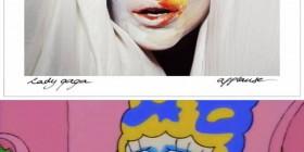 Parecidos razonables: Lady Gaga y Marge Simpson