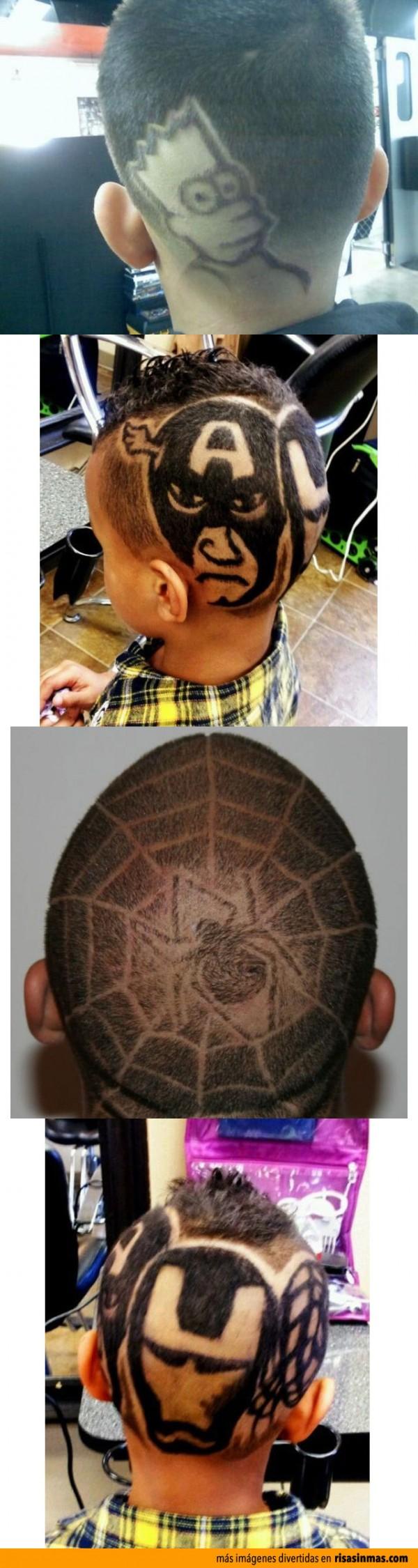 Peinados de niños divertidos