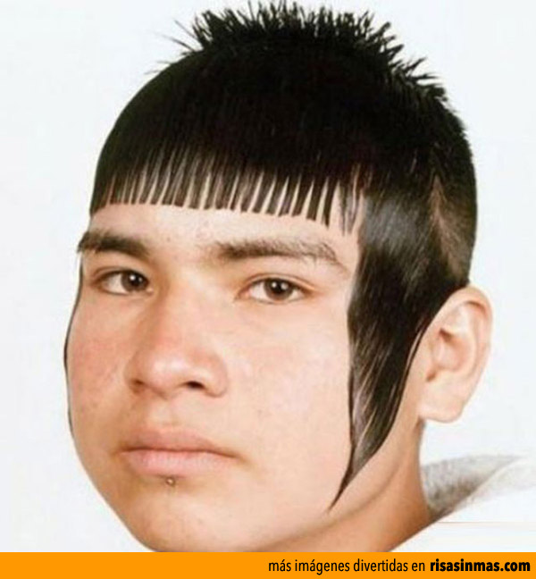 Peinados ridículos