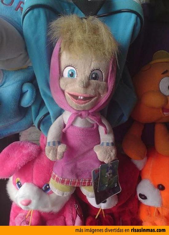 Peluches infantiles horrorosos