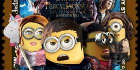 Percy Jackson y el mar de los monstruos versión Minions
