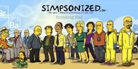 Personajes de Breaking Bad Simpsonizados