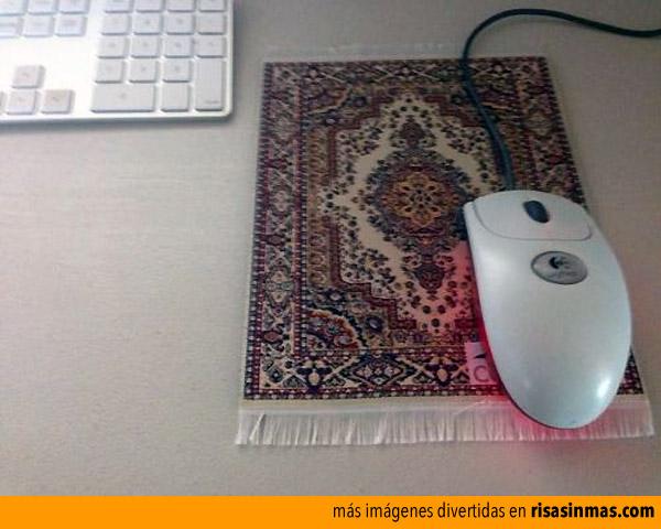 Por fin una verdadera alfombrilla para ratón