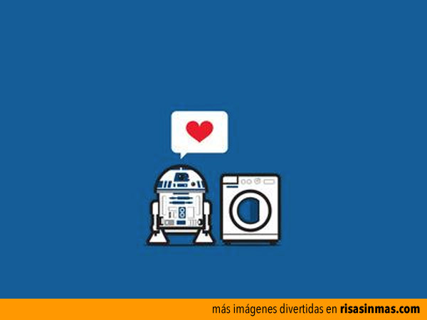 R2-D2 enamorado