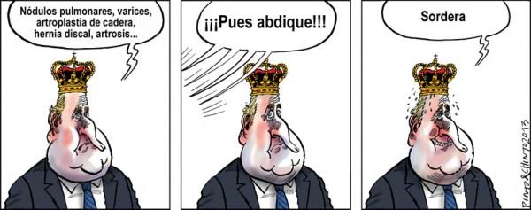 Razones para que abdique Juan Carlos I