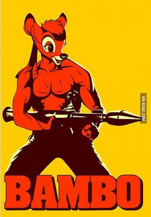 Si unes Rambo con Bambi