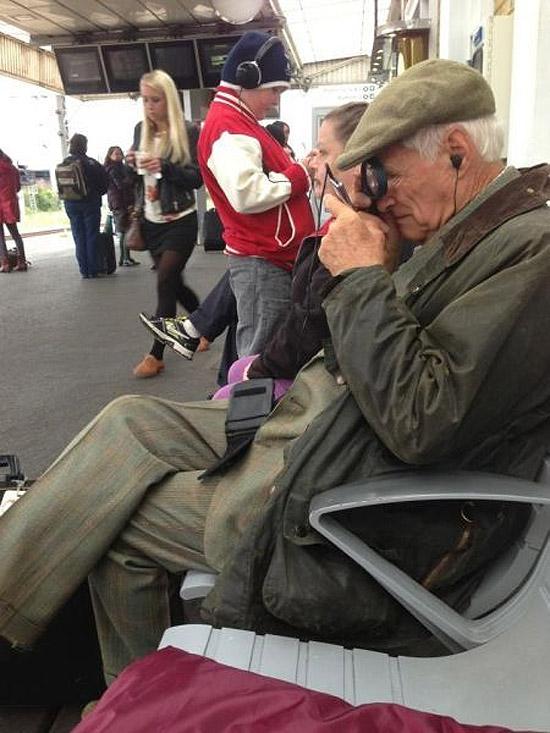 Smartphones y los abuelos