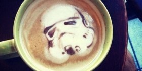 Stormtrooper en el café
