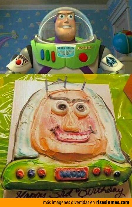 Tartas horrorosas: Buzz Lightyear