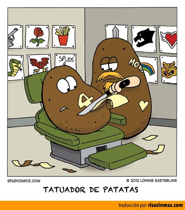 Tatuador de patatas
