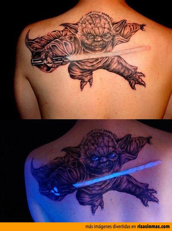 Tatuajes originales: Yoda