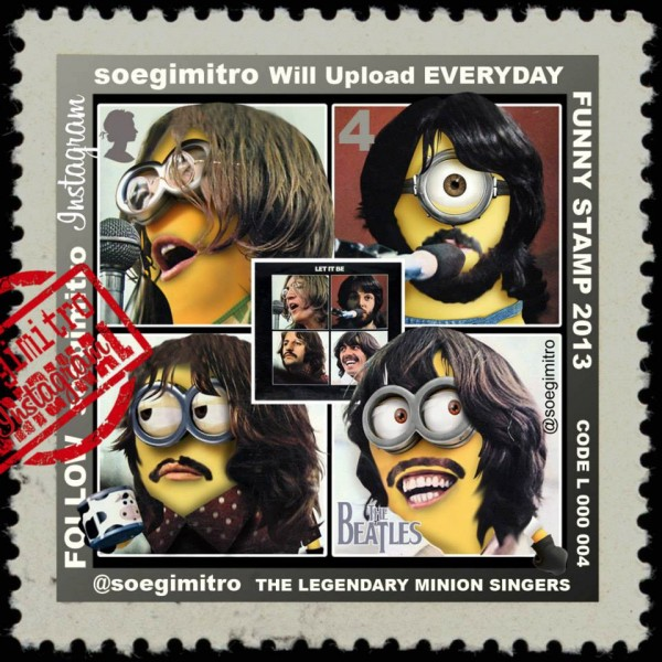 The Beatles Minions