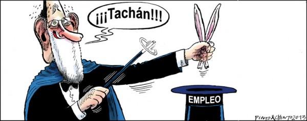 Trucos de magia de Mariano Rajoy