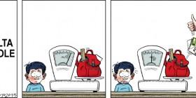 Vuelta al colegio: Aligerar peso de la mochila