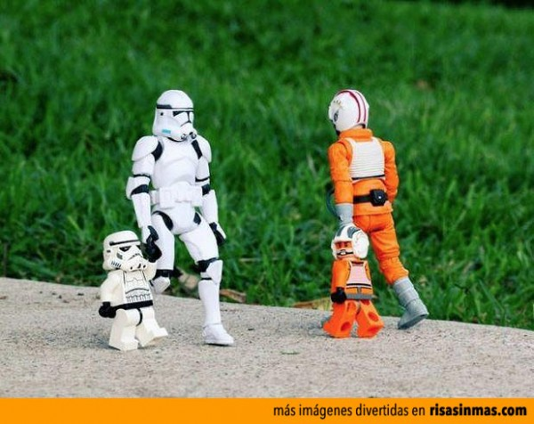 Vuelta al colegio de Star Wars