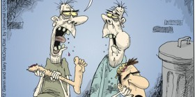 Zombies comiendo