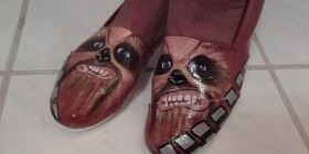 Zapatos horrorosos de Chewbacca