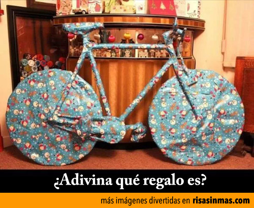 ¿Adivina qué regalo es?