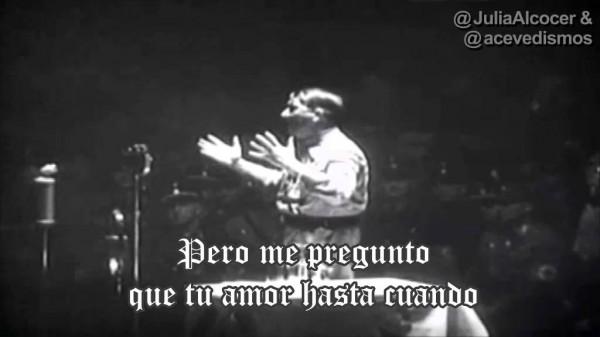 Adolf Hitler, Vivo cantando